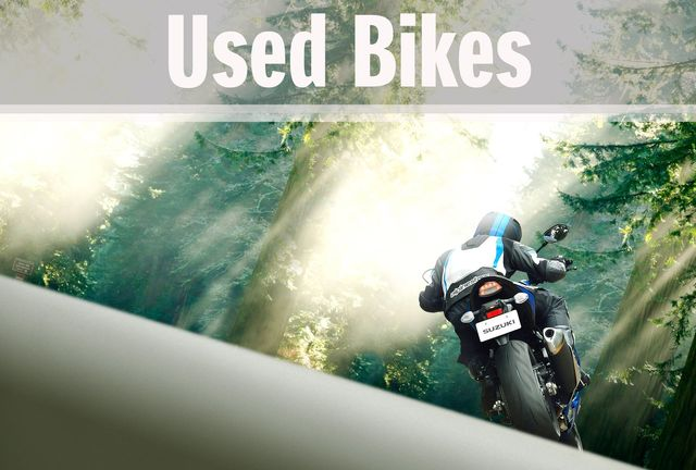 used bikes and scooters