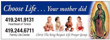 Christ The King Respect Life Billboard