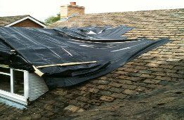 Re-roof including Dormer Before