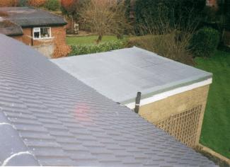 Tiled roof for garden house
