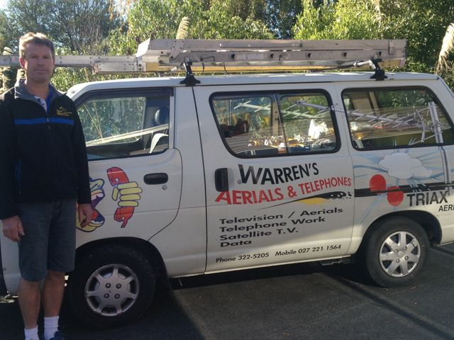 With Warren, customers can get the best picture satellite and TV aerial expert in Christchurch.