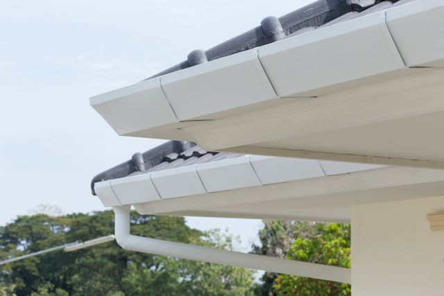 Cleaning blocked gutters