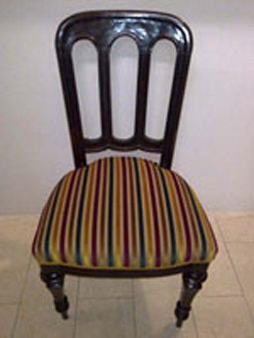 sedia con cuscino sfoderabile
