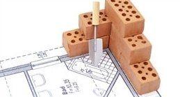 una scheda tecnica raffigurante delle opere e ristrutturazioni edili