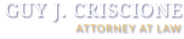 Guy J. Criscione Attorney At Law Logo