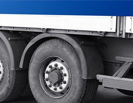 ruote di un camion