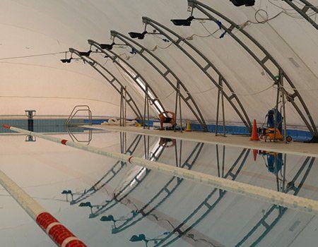 tensostruttura per piscina