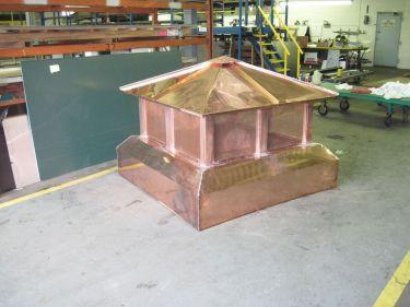 sheet-metal-n-copper-chimney-caps - A W  Therrien Company, Inc
