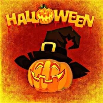 Halloween-image-with-pumpkin
