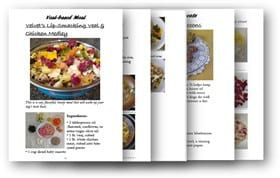 pages of recipe book for small dogs