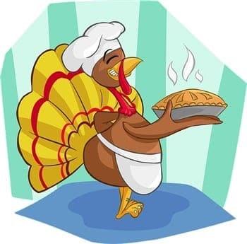 thanksgiving-turkey-cartoon-holding-a-pie