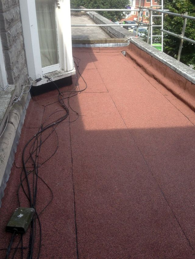 An example of our felt roofing
