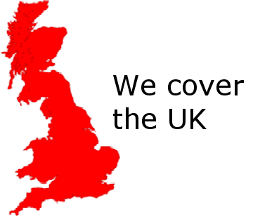 We cover the UK Logo