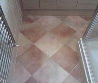 Bathroom Tiling - Skegness - Richard Hardie - Tiled floor