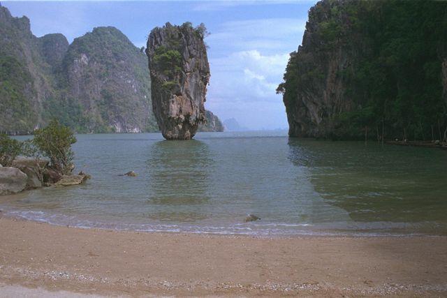 James Bond Island, the top tourist attraction around Thailand's Phuket