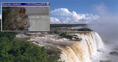 Iguacu is where Bond landed his paraglider in Moonraker (1979)