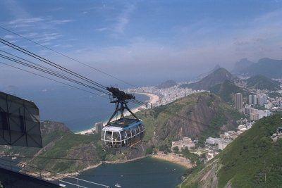 Rio de Janeiro, as featured in Moonraker (1979)