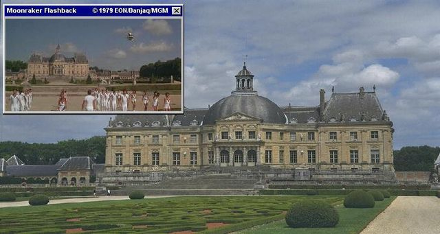 Around paris several chateaus were used for different bond films
