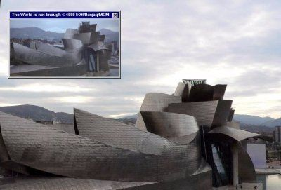 Bilbao, as can be seen in the first scenes of The World Is Not Enough (1999)