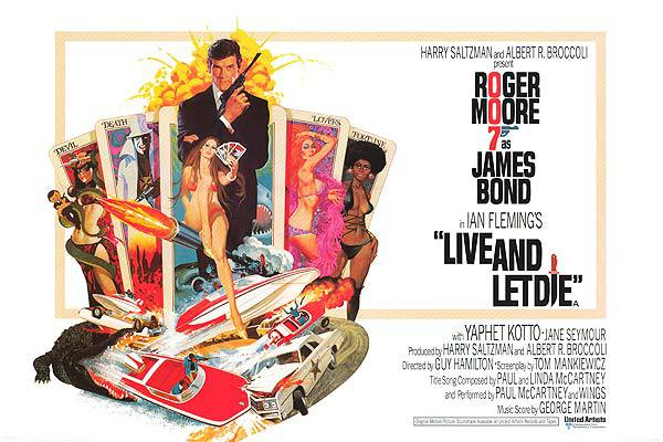 Live And Let Die (1973) - poster