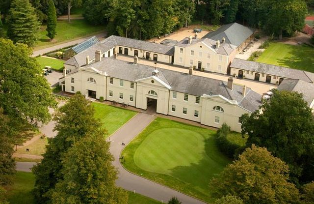 Luton Hoo Spa featured in Never Say Never Again as Swaddley Airbase