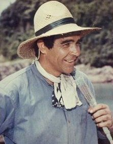 Sean Connery on location in Akime, Japan (1967)