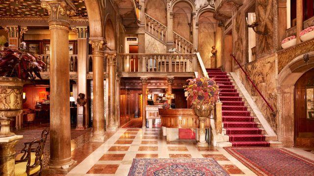 The Danieli interior
