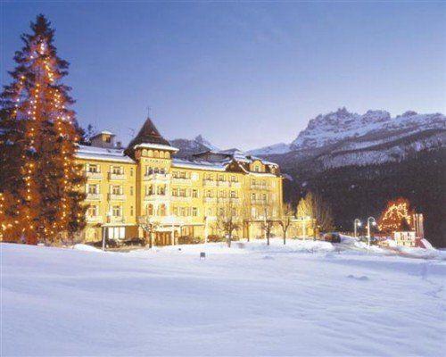 The Miramonti Majestic in Cortina
