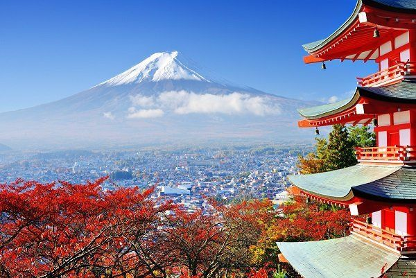 Mt.Fuji, the national symbol of Japan