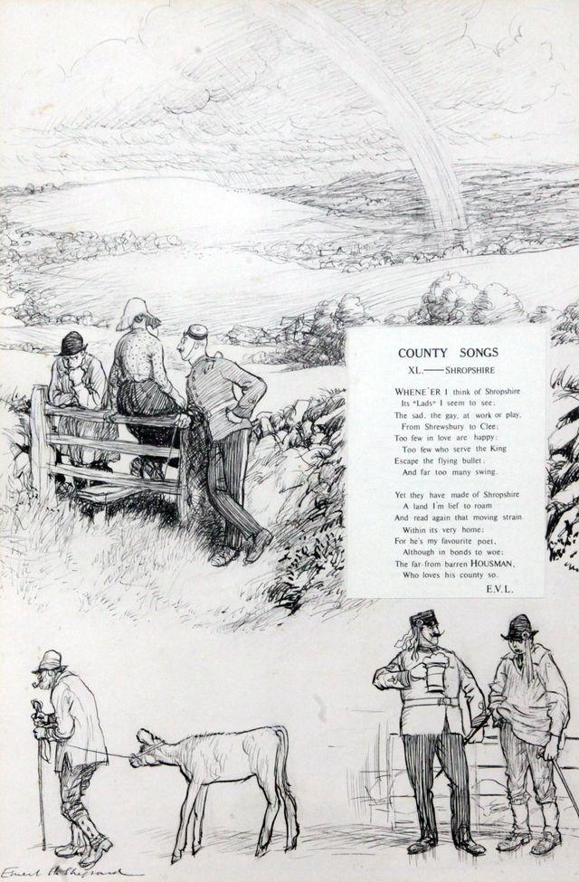 Ernest H. Shepard cartoon