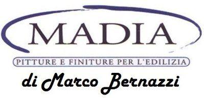 Madia pitture e finiture per l`edilizia di Marco Bernazzi Logo
