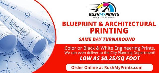 Engineering Prints | RushMyPrints | Engineering Printing Services, CA