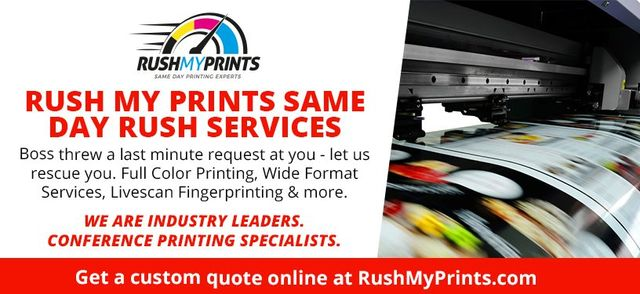 Rush printing services in northern california rush my prints rushmyprints same day fast printing malvernweather Choice Image