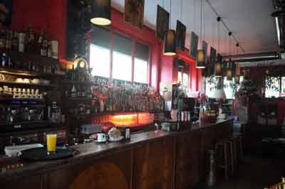 bancone di un bar