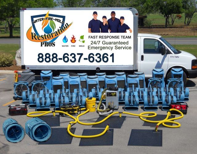 Restoration Pros has the equipment and experience for all water damage restoration