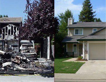 fire damage, fire and smoke damage, fire damage remediation