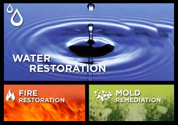 water fire mold restoration