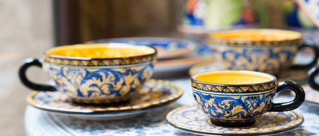 Ceramiche tipiche da usare con la cucina tipica a sciacca