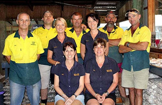 The Cairns Raw Materials team Group Photo