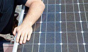 Solar energy panels - Shrewsbury, Shropshire - Alun Pryce Electrical - Solar Installation