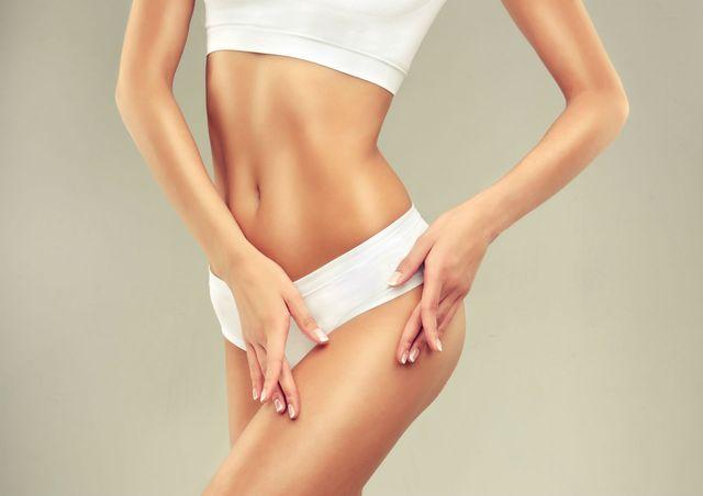 corpo in forma e privo di cellulite