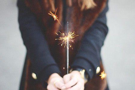 planning a celebration of life sparkler