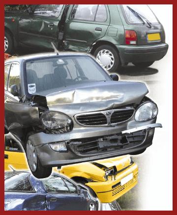 Car Scrap Yard - Dundee - Baldovie Autobreakers - Damaged cars