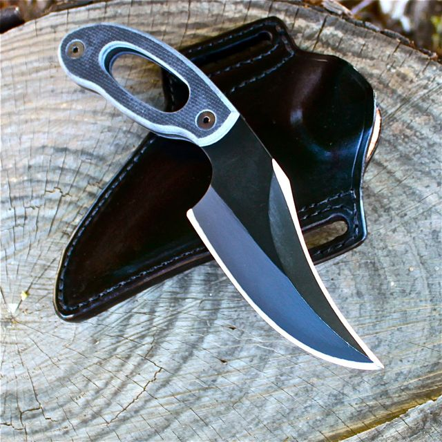 Grayman Dinka Var with Leather Sheath