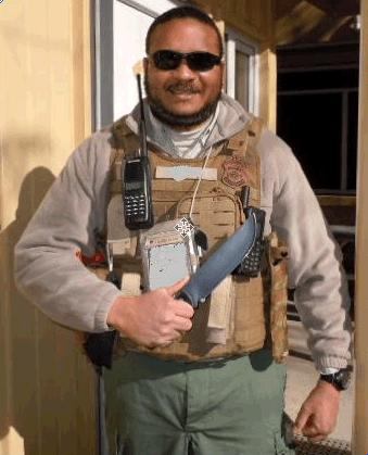 Grayman Mega Pounder Combat Knife