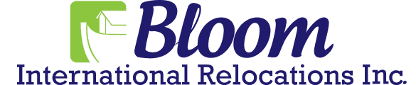 Bloom International Relocations logo