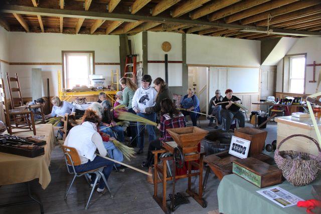 workshops at shaker village