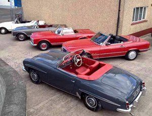 Mercedes restoration specialists   Heaney Motor Co