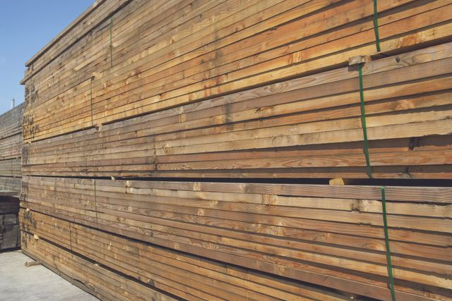 building project that makes use of lumber supply in Norwood, OH