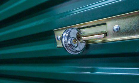 A secure storage unit